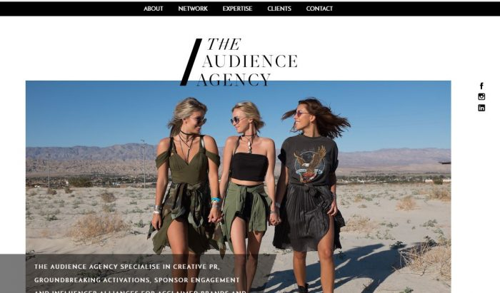 The Audience Agency website - Epic!