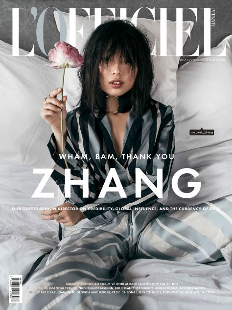 Tobi's famous ZHANG Editorial Cover
