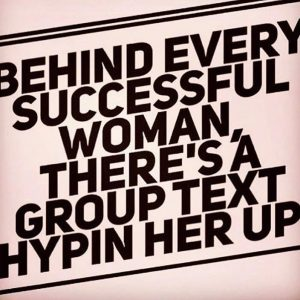 Monday shout outs to our girlgang and all the emailshellip