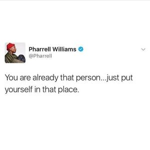This guy is WISDOM pharrell