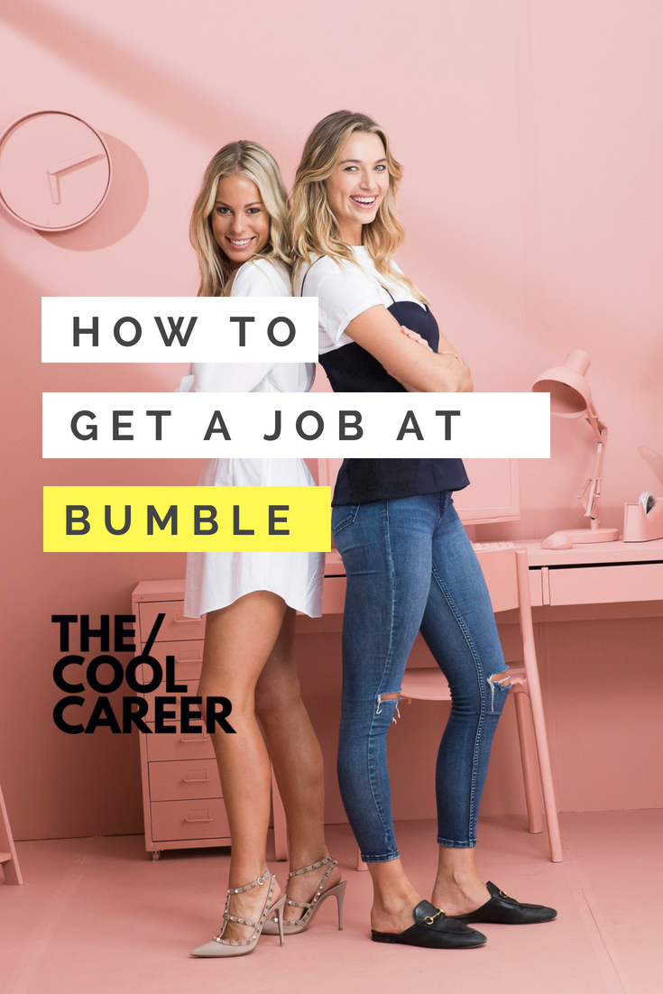 how to get a job at bumble